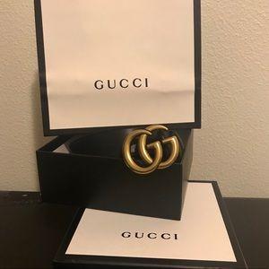 GG belt Gold buckle